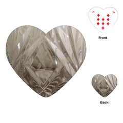 Cut Crystal Playing Cards (heart)