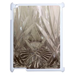 Cut Crystal Apple Ipad 2 Case (white) by DeneWestUK