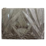 Cut Crystal Cosmetic Bag (XXL)  Front