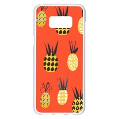 Pineapples Samsung Galaxy S8 Plus White Seamless Case