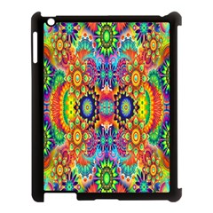 Artwork By Patrick Colorful 47 Apple Ipad 3/4 Case (black) by ArtworkByPatrick
