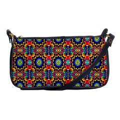 Artwork By Patrick Colorful 47 1 Shoulder Clutch Bags by ArtworkByPatrick