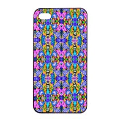 Artwork By Patrick Colorful 48 Apple Iphone 4/4s Seamless Case (black) by ArtworkByPatrick