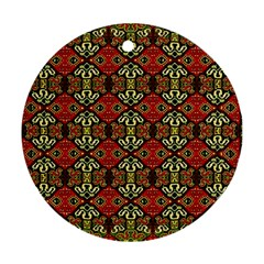 Artwork By Patrick Colorful 49 Ornament (round) by ArtworkByPatrick
