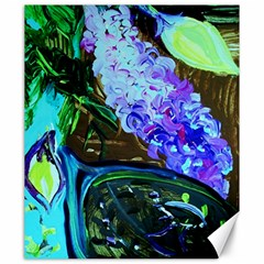 Lilac And Lillies 1 Canvas 20  X 24