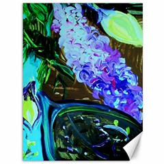 Lilac And Lillies 1 Canvas 36  X 48   by bestdesignintheworld
