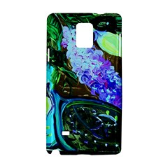 Lilac And Lillies 1 Samsung Galaxy Note 4 Hardshell Case by bestdesignintheworld