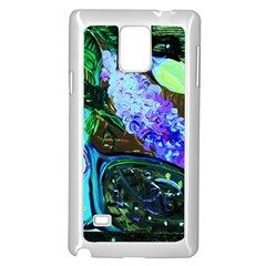 Lilac And Lillies 1 Samsung Galaxy Note 4 Case (white) by bestdesignintheworld