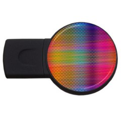 Colorful Sheet Usb Flash Drive Round (4 Gb) by LoolyElzayat