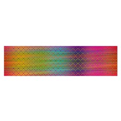 Colorful Sheet Satin Scarf (oblong)