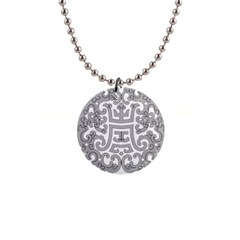Chinese Traditional Pattern Button Necklaces