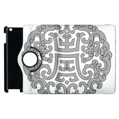 Chinese Traditional Pattern Apple Ipad 3/4 Flip 360 Case