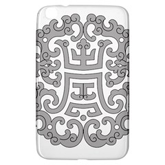 Chinese Traditional Pattern Samsung Galaxy Tab 3 (8 ) T3100 Hardshell Case