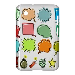 Set Collection Balloon Image Samsung Galaxy Tab 2 (7 ) P3100 Hardshell Case