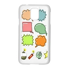 Set Collection Balloon Image Samsung Galaxy S5 Case (white)