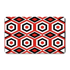 Motif Batik Design Decorative Magnet (rectangular)