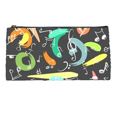 Repetition Seamless Child Sketch Pencil Cases