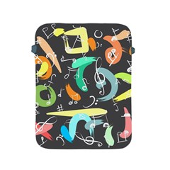 Repetition Seamless Child Sketch Apple Ipad 2/3/4 Protective Soft Cases by Nexatart