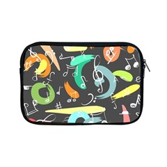 Repetition Seamless Child Sketch Apple Ipad Mini Zipper Cases
