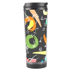 Repetition Seamless Child Sketch Travel Tumbler