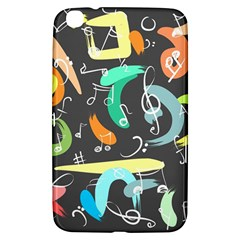 Repetition Seamless Child Sketch Samsung Galaxy Tab 3 (8 ) T3100 Hardshell Case