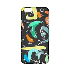 Repetition Seamless Child Sketch Apple Iphone 6/6s Hardshell Case