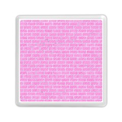 Brick1 White Marble & Pink Colored Pencilbrick1 White Marble & Pink Colored Pencil Memory Card Reader (square)  by trendistuff