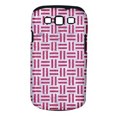 Woven1 White Marble & Pink Denim (r) Samsung Galaxy S Iii Classic Hardshell Case (pc+silicone) by trendistuff