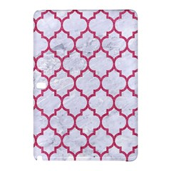 Tile1 White Marble & Pink Denim (r) Samsung Galaxy Tab Pro 12 2 Hardshell Case by trendistuff