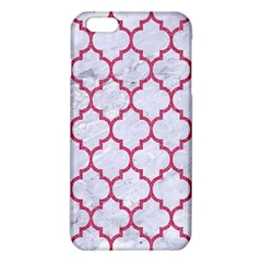 Tile1 White Marble & Pink Denim (r) Iphone 6 Plus/6s Plus Tpu Case by trendistuff