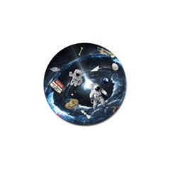 We Found Laika Golf Ball Marker (10 Pack) by Valentinaart