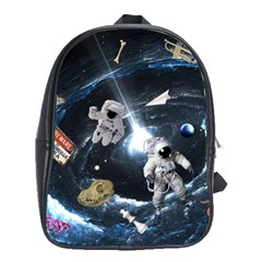 We Found Laika School Bag (large)