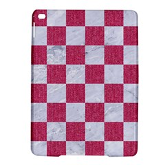 Square1 White Marble & Pink Denim Ipad Air 2 Hardshell Cases by trendistuff