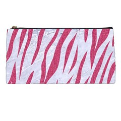 SKIN3 WHITE MARBLE & PINK DENIM (R) Pencil Cases