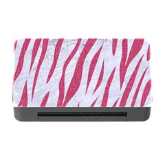 SKIN3 WHITE MARBLE & PINK DENIM (R) Memory Card Reader with CF