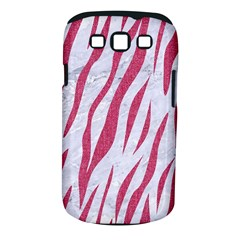 SKIN3 WHITE MARBLE & PINK DENIM (R) Samsung Galaxy S III Classic Hardshell Case (PC+Silicone)