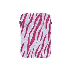 SKIN3 WHITE MARBLE & PINK DENIM (R) Apple iPad Mini Protective Soft Cases