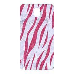 Skin3 White Marble & Pink Denim (r) Samsung Galaxy Note 3 N9005 Hardshell Back Case by trendistuff