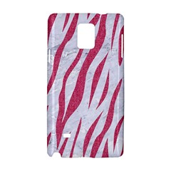 Skin3 White Marble & Pink Denim (r) Samsung Galaxy Note 4 Hardshell Case by trendistuff