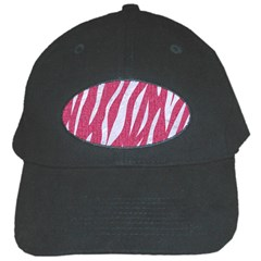SKIN3 WHITE MARBLE & PINK DENIM Black Cap