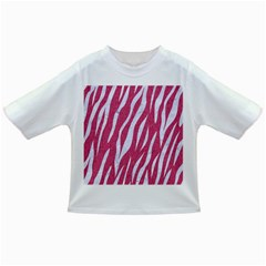 SKIN3 WHITE MARBLE & PINK DENIM Infant/Toddler T-Shirts