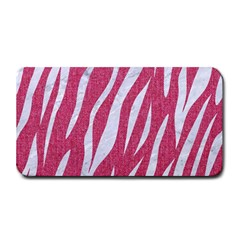 SKIN3 WHITE MARBLE & PINK DENIM Medium Bar Mats