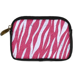 SKIN3 WHITE MARBLE & PINK DENIM Digital Camera Cases