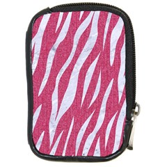 SKIN3 WHITE MARBLE & PINK DENIM Compact Camera Cases