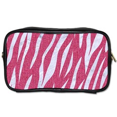 SKIN3 WHITE MARBLE & PINK DENIM Toiletries Bags 2-Side