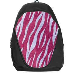 SKIN3 WHITE MARBLE & PINK DENIM Backpack Bag
