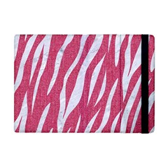 SKIN3 WHITE MARBLE & PINK DENIM Apple iPad Mini Flip Case