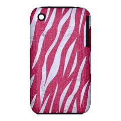 SKIN3 WHITE MARBLE & PINK DENIM iPhone 3S/3GS
