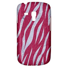 SKIN3 WHITE MARBLE & PINK DENIM Galaxy S3 Mini