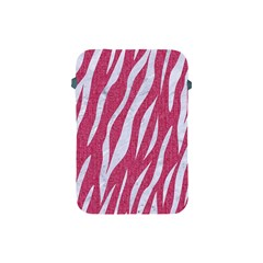 SKIN3 WHITE MARBLE & PINK DENIM Apple iPad Mini Protective Soft Cases